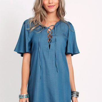 Joni Chambray Dress