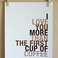 Coffee Art Print on Luulla