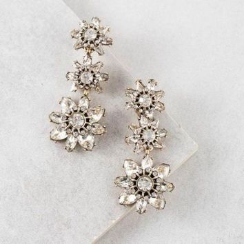 Cosette Sparkle Drop Earrings