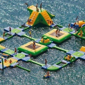 Inflatable Water Park Course- FOLLOW ME AND ENJOY<3
