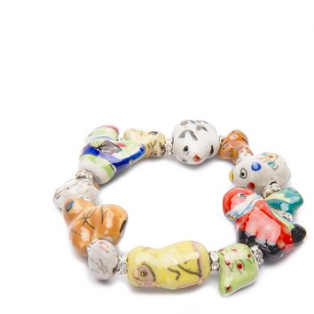 Zodiac Colorful Animal Bracelet