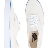 Vans Authentic Canvas Shoes White