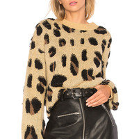House of Harlow 1960 x REVOLVE Lawrence Sweater in Leopard