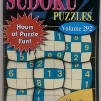 Sudoku Puzzles Vol 292 English Spanish French New