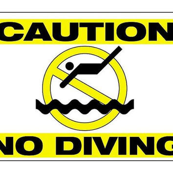Pool Safety Sign - Double Sided