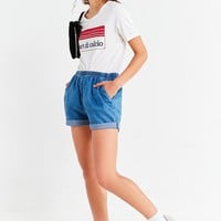 Urban Renewal Remade Pull-On Denim Short | Urban Outfitters