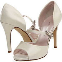 Caparros Vertical Ivory Satin/Clear - Zappos.com Free Shipping BOTH Ways