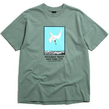 Rockaway Beach T-Shirt Atlantic Green