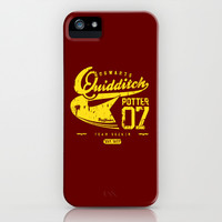 Harry Potter - Vintage Quidditch iPhone & iPod Case by SOULTHROW