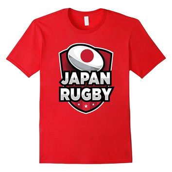 Japan Rugby T-Shirt For Japanese Rugby Enthusiasts