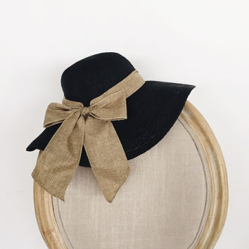French Riviera Bow Hat