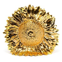 Sunflower Vase in Gold by Areaware - Pop! Gift Boutique