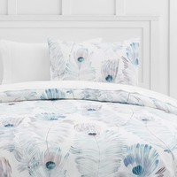 Pretty Plumes Duvet Cover + Sham