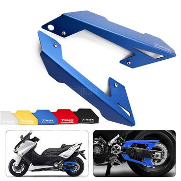 blue Color Motorcycle accessories modified parts CNC Belt Guard Cover Protector For Yamaha TMAX 530 530 2012-2015 motorbike moto