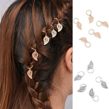 Fashion 1 Set Women Girls Popular Charm Hairpin Compiled Wedding Beach Dreadlock Hair Accessories Gift