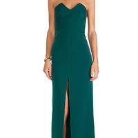 Assali The Squint Dress in Green