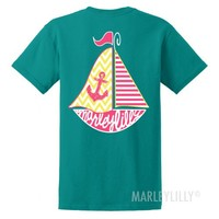Sailboat Tee | Marleylilly