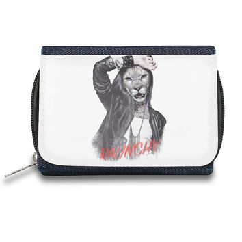 Raunchy Cat Zipper Wallet| The Stylish Pouch To Keep Everything Organized| Ideal For Everyday Use & Traveling| Authentic Accessories By Styleart