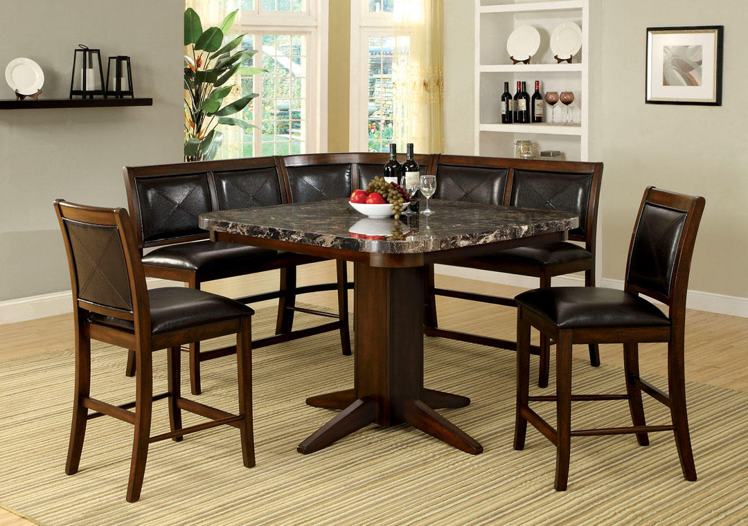 Granite Top Kitchen Table Set: A.M.B. Furniture & Design :: Dining Room From AMB