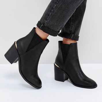 ASOS - ECHO - Bottines chelsea à talons at asos.com