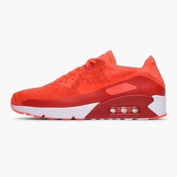 Nike Air Max 90 Ultra 2.0 Flyknit | Pink | Sneakers | 875943-600 | Caliroots