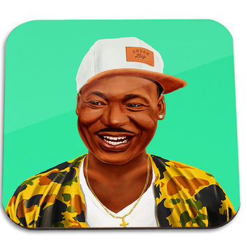 Hipstory | Martin Luther King Wooden Coaster