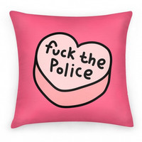 FUCK THE POLICE PILLOW