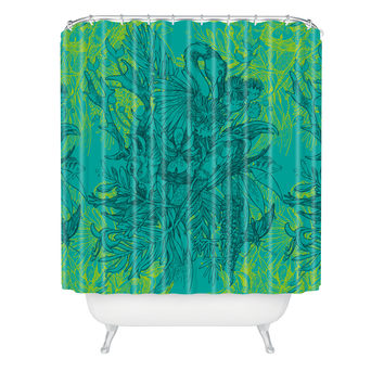 Geronimo Studio Amazonia Shower Curtain
