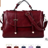 Women Leather Handbags Shopping Shoulder Bags Ladies Designer Beach Travel Totes