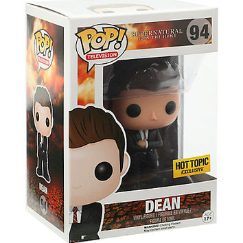 Funko Supernatural Pop! Television FBI Dean Vinyl Figure Hot Topic Exclusive