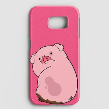 Gravity Falls Waddles Pink Pig Samsung Galaxy S7 Edge Case