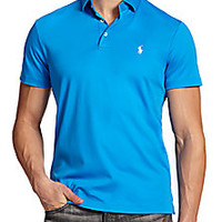 Polo Ralph Lauren - Pima Soft-Touch Polo - Saks Fifth Avenue Mobile