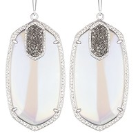 Darcy Statement Earrings in Platinum Orbit - Kendra Scott Jewelry