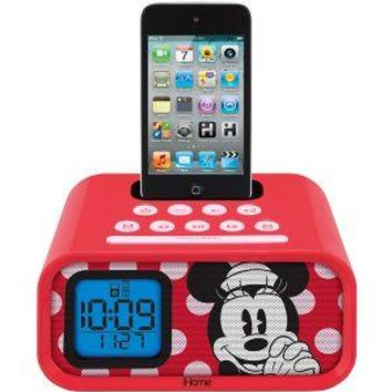 Walmart: eKids Disney Minnie Mouse Dual Alarm Clock Speaker System with iPod Dock