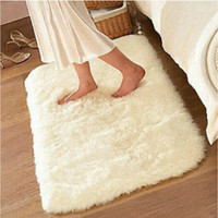 50*80 rugs and carpets 4.5mm Silky bedroom floor mats living room mat bathroom door mat