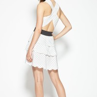 San Onofre Dress in White