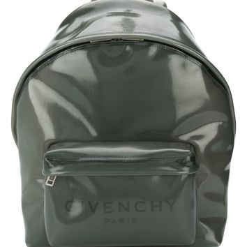 Earth Grey PVC Backpack by Givenchy