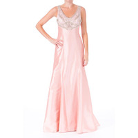 Sue Wong Womens Taffeta Prom Semi-Formal Dress