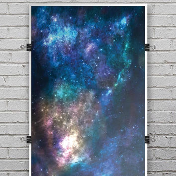 Vector Space V2 - Ultra Rich Poster Print