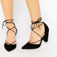 ASOS SINEAD Wide Fit Lace Up Heels