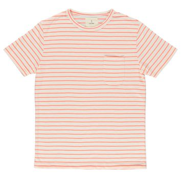 La Paz Guerreiro Tee in Fluor Stripes