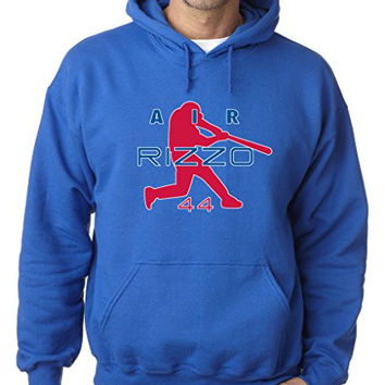 "Anthony Rizzo Chicago Cubs ""Air Rizzo"" Hooded Sweatshirt ADULT 3XL"