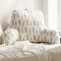 Plum & Bow Hand Drawn Feathers Boo Pillow - Urban Outfitters