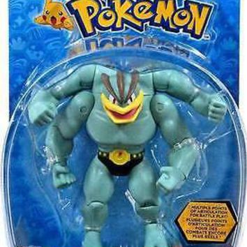 "Tomy Pokemon Machamp 6"" Hero Articulated Action Figure US Seller USA Authentic"