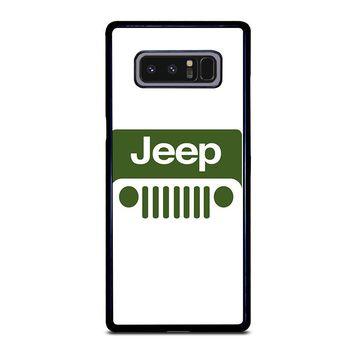 JEEP LOGO Samsung Galaxy Note 8 Case Cover