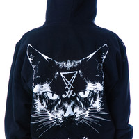 Blackcraft Lucifer The Cat Hoodie