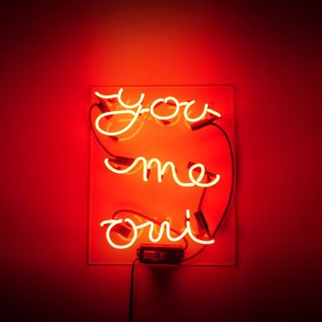 You Me Oui Neon Sign