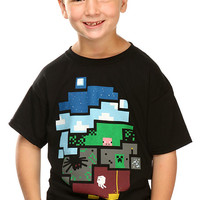 World of Minecraft - Kids - Black,