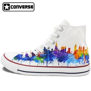 Chicago Painted Converse