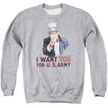 Army - I Want You Adult Crewneck Sweatshirt
